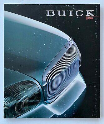 1990 Buick 87-Page Sales Brochure Book  - Riviera Electra Reatta LeSabre Skyhawk
