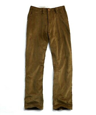 E. Tautz Field Trouser Pant Corduroy Olive Green Size 32
