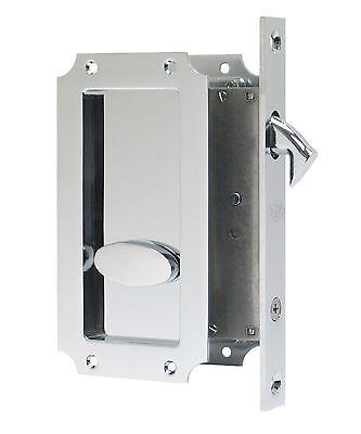 Fpl Manor Privacy Pocket Door Mortise Lock Hardware Kit  Multiple Finishes