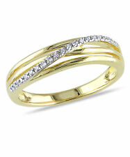 Amour Sterling Silver Diamond Accent High-polish Ring