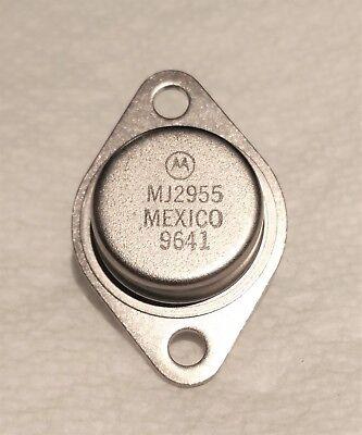 Motorola Mj2955 Pnp Bipolar Power Transistor 15 Amp 60 Volt General Purpose