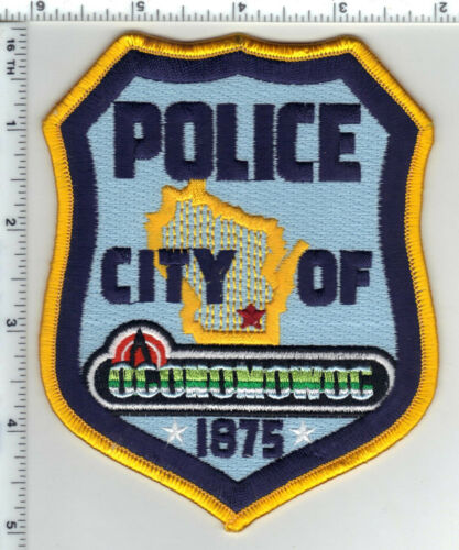 City of Oconomowoc Police (Wisconsin) 2nd Issue Shoulder Patch