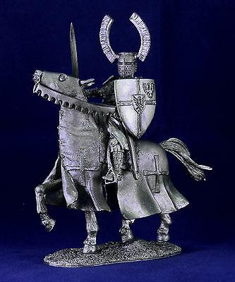 Zinnfigur Der Reiter des Deutschen Ordens 54mm