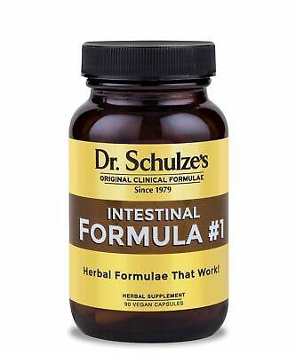 90 Count Capsules Colon Bowel Cleanse Intestinal Formula #1 - All Natural