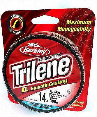 330yd Spool 0.23mm dia Special Offer Berkley Trilene XL Clear Mono 6lb