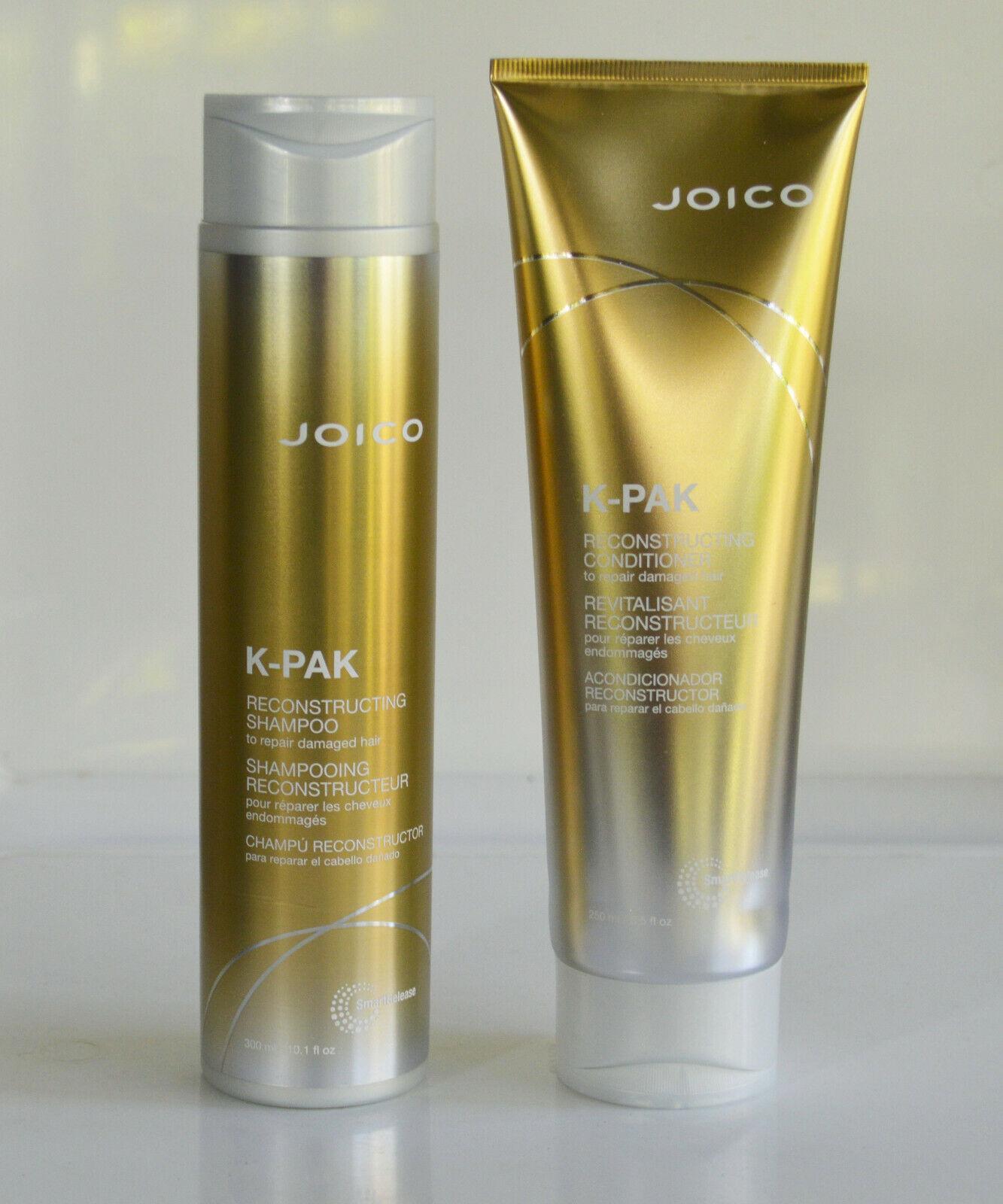 k pak reconstruct shampoo and conditioner