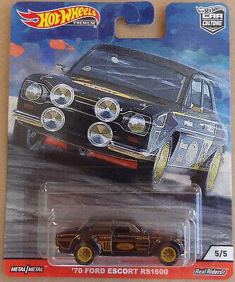 Hot Wheels Car Culture Door Slammers - '70 Ford Escort RS 1600 / Real Riders