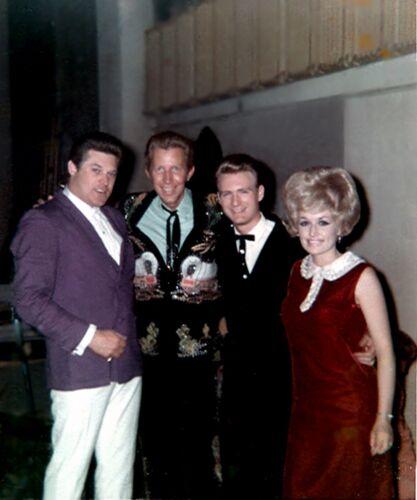 Dolly Parton, Porter Waggoner Ronnie Jackson & Gordon Terry Photo