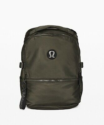 Lululemon Women's New Crew Backpack DKOV Dark Olive Green