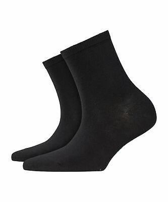 Burlington Lady Short Socken Damen Uni aus hautfreundlicher Baumwolle
