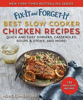 Fix-it and Forget-it Best Slow Cooker Chicken Recipes - Hope