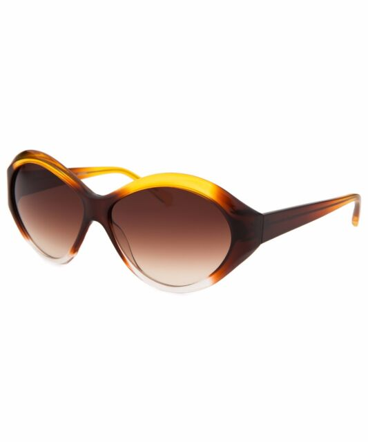 New Oliver Peoples Casella HY Multi Color/ Spice Brown Gradient Sunglasses