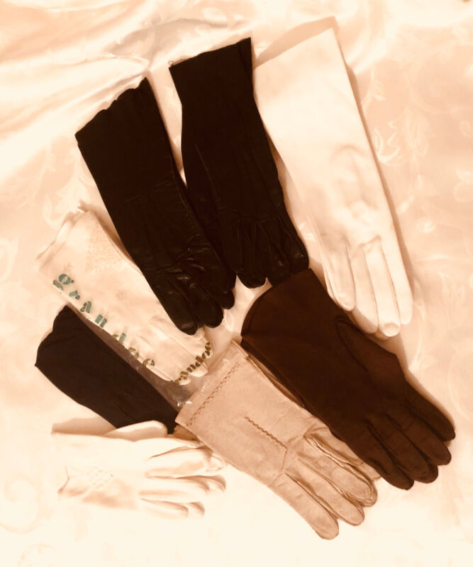 Lot of 8 pairs of Vintage Gloves