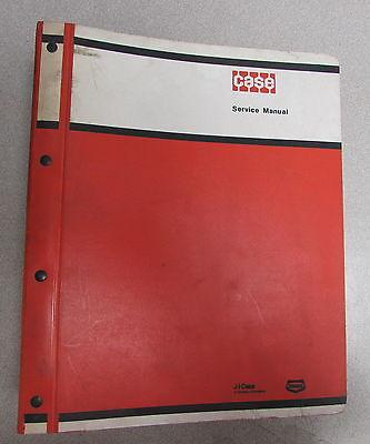 Case 680 Construction King Loader Backhoe Service Repair Manual 9-77441 9101501
