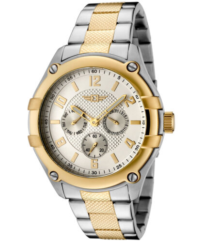 $49.99 - I By Invicta Men's 43659-002 Silver Dial Two-Tone Stainless Steel Watch