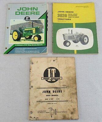 John Deere 1010 2010 3020 Shop Manuals