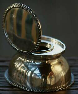 Sterling Silver Inkwell London 1896