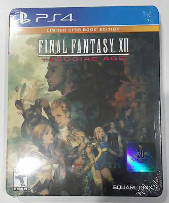 Final Fantasy Xii  The Zodiac Age Steelbook Edition  New   Factory Sealed