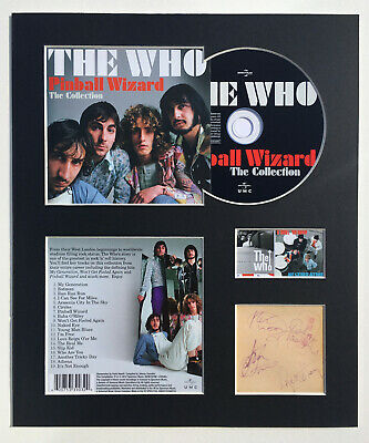 THE WHO - Signed Autographed - PINBALL WIZARD - Album Display