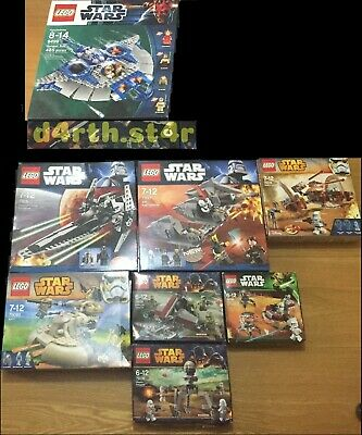 🔰NEW🔰 Lego Star Wars Episode 1-3 + CW Collection 🔰NO MINIFIGURES🔰