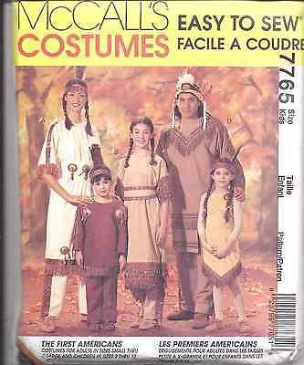 ccalls Nähmuster Halloween Kostüm Indisch Kinder Erwachsene (Vintage Halloween Kostüme Kinder)