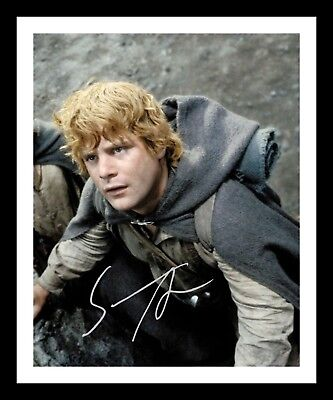 SEAN ASTIN - LORD OF THE RINGS AUTOGRAPHED SIGNED & FRAMED PP POSTER PHOTO