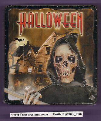 Halloween Horror Music Cd (Halloween Collectors Edition Horror Zombies Music CD 2007 Madacy 3D MetalBox)