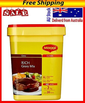 Maggi Classic Rich Gravy Mix, 2kg - Makes 20 Litres, 400 Serves - Free Postage