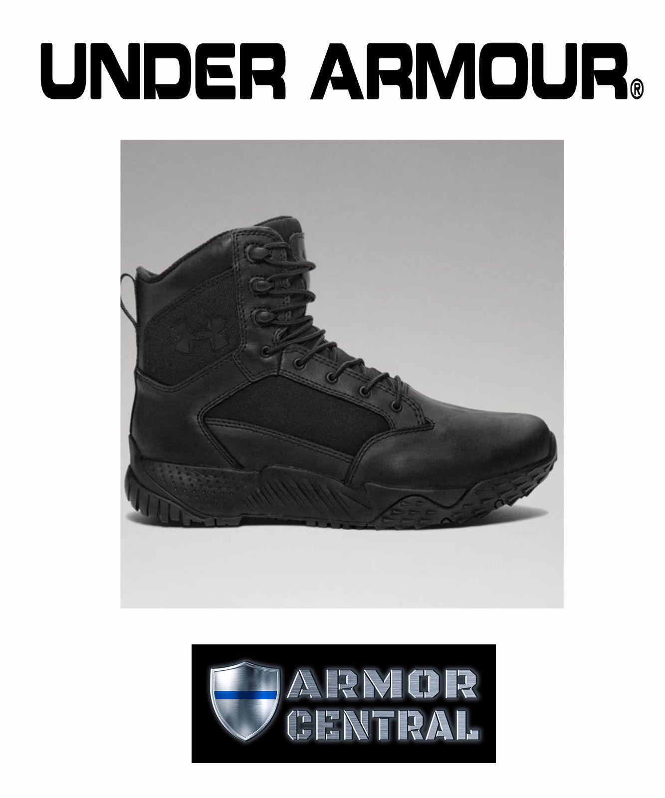 NEW Under Armour UA Women's Black Stellar TAC Tactical Boots