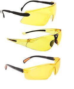 lunettes de nuit conduite auto verres jaune sport soleil voiture moto ski ebay. Black Bedroom Furniture Sets. Home Design Ideas