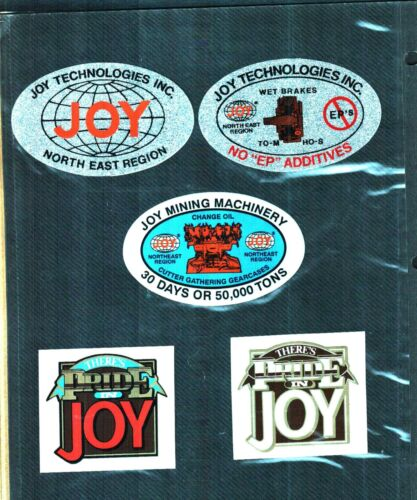 HUGE LOT OF 200 DIFFERENT  COAL MINING STICKERS
