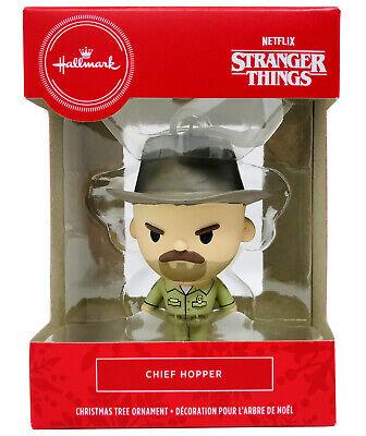 Netflix Stranger Things Chief Hopper Hallmark 2020 Christmas Ornament Decoration