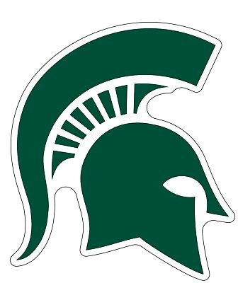 Michigan State University Msu Spartans Ncaa Color Die Cut Vinyl Decal   Sticker