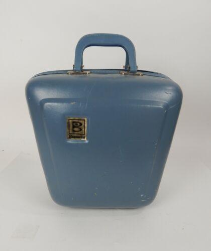 Vintage Brunswick Hardshell Blue Bowling Ball Case/Bag