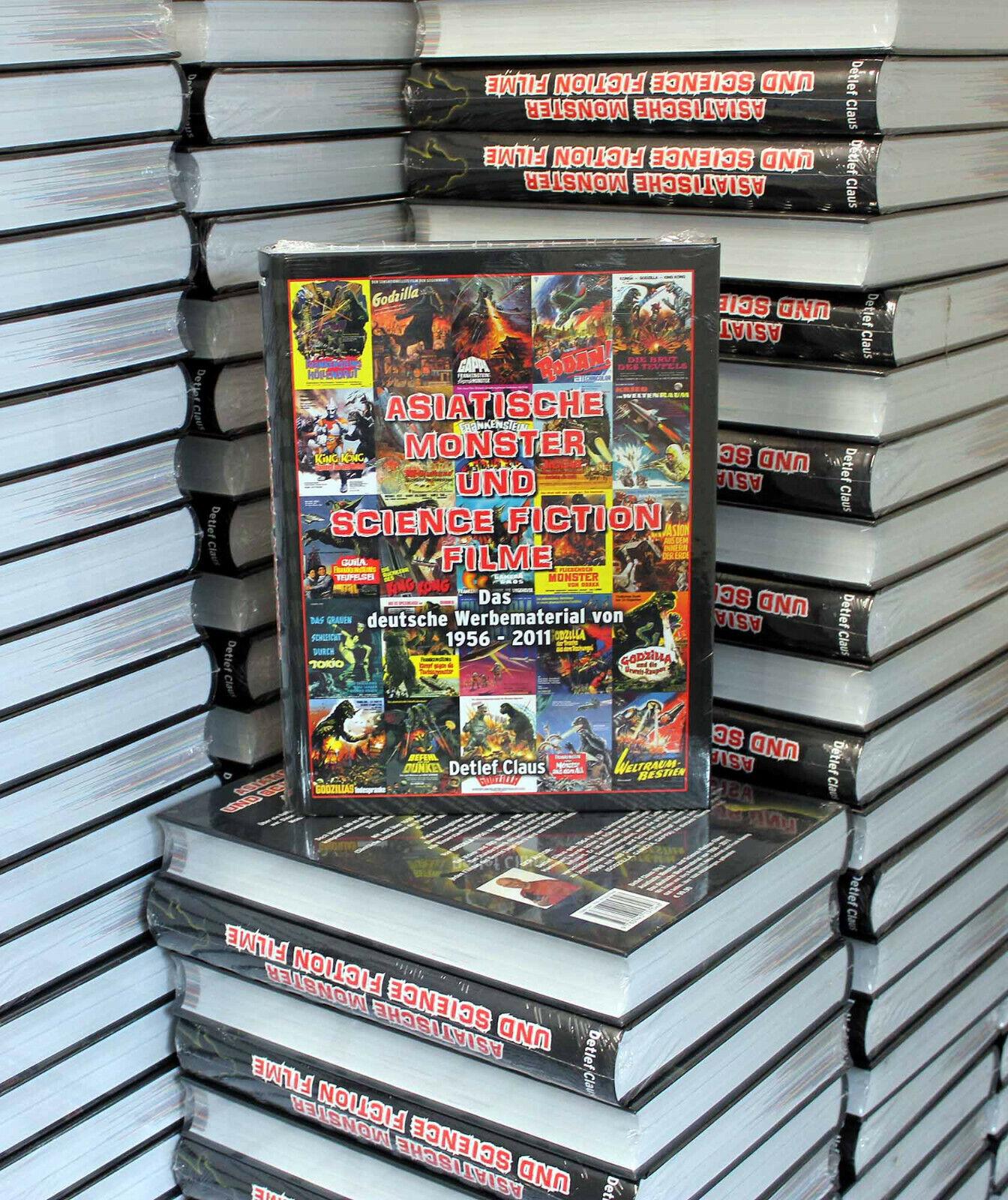 LAGERVERKAUF !!! GODZILLA-Asiatische Monster und Science Fiction Filme, D.Claus