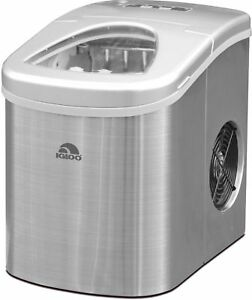 igloo compact ice maker ice117 stainless steel for sale online ebay rh ebay com