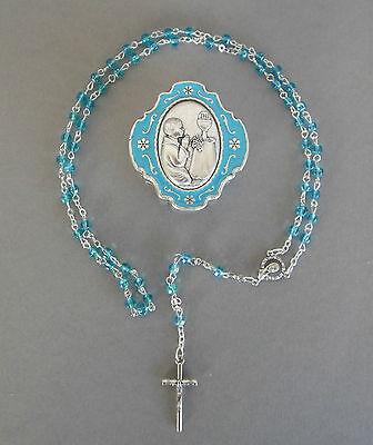 Perle mit Schatulle hellblau Erstkommunion Junge AR 2046 -2 (Erstkommunion Junge)