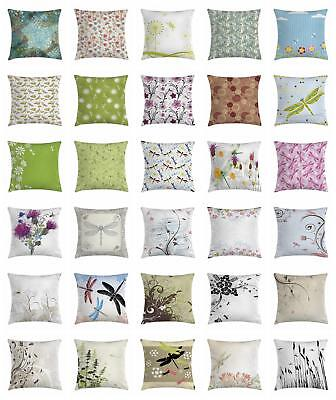 Dragonflies Throw Pillow Cases Cushion Covers Home Decor 8 S