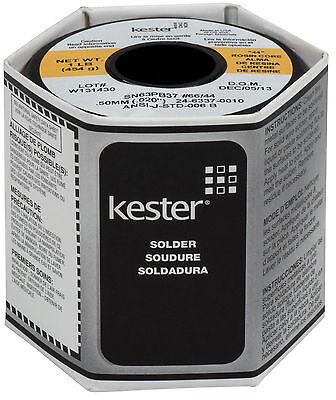Kester 44 Rosin Core Solder 6337 .020 1 Lb. Spool