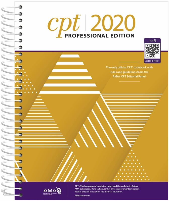 CPT 2020 PROFESSIONAL EDITION BY AMA P.D.F