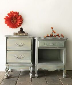 Nightstand pair/bedside tables