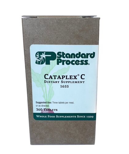 Standard Process - Cataplex C - 360 Tablets - EXP 10-01-21