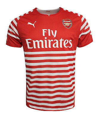 Puma Arsenal AFC Prematch 2014/2015 Mens Jersey Training Top Red 746934 01 UA73