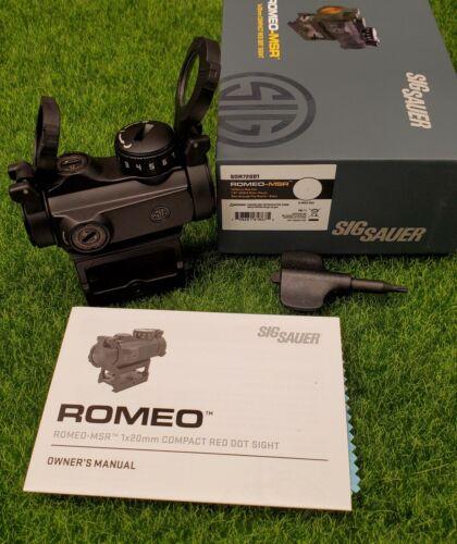 Sig Sauer Romeo-MSR Red Dot Sight 2 MOA w/ Riser - SOR72001