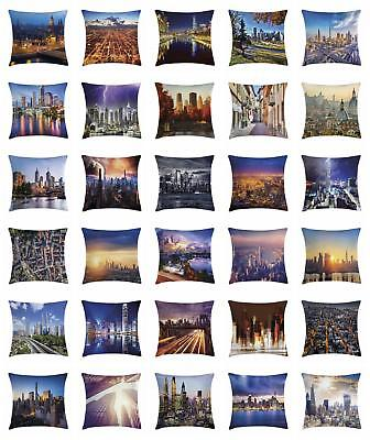 Urban Life Throw Pillow Cases Cushion Covers Ambesonne Home