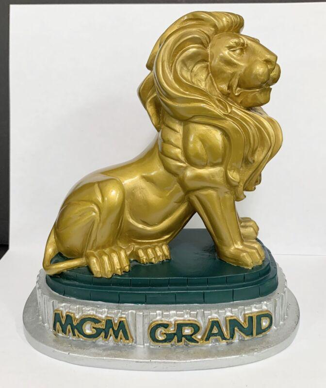 MGM Grand Hotel Casino Las Vegas Lion Figurine Statue