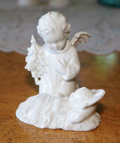 Vintage Hummel Goebel HX 262 Angel and Baby Jesus Figurine Nativity Christmas