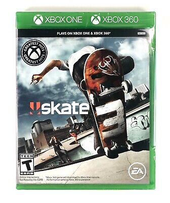Skate 3: Xbox One / Xbox 360 BRAND NEW✨ FACTORY SEALED✨ FREE SHIPPING✨