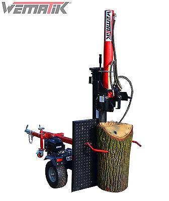 Berühmt Holzspalter Wematik stehend liegend 110 cm Benzin Spalter B&S hydr #QD_46