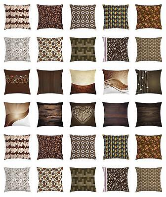 chocolate throw pillow cases cushion covers by